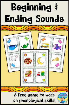 Build pre-reading skills while your children play with this freebie from Looks Like Language!