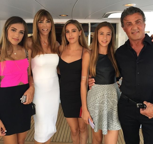 Sylvester Stallone Says His Wife Should Take All the Credit For His Three Gorgeous Daughters