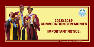 UNILAG 51st Convocation Ceremony Programme of Events 2019