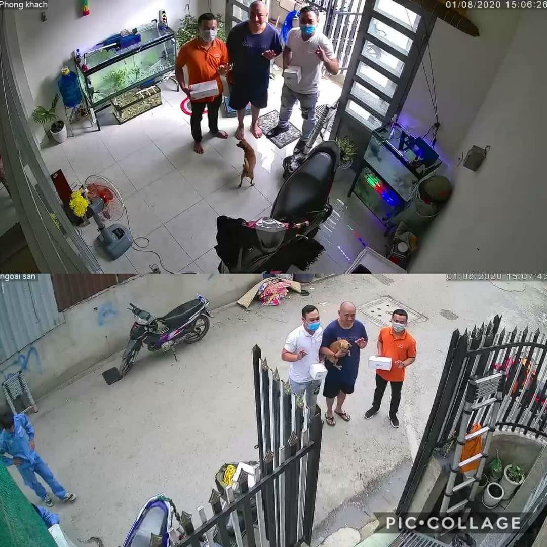 Hình ảnh thực tết từ khách hàng mua sản phẩm Camera FPT