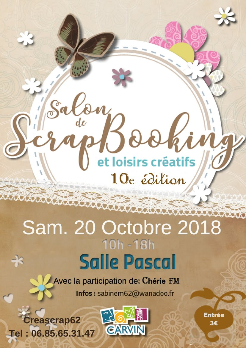 Salon de Scrapbooking à Carvin