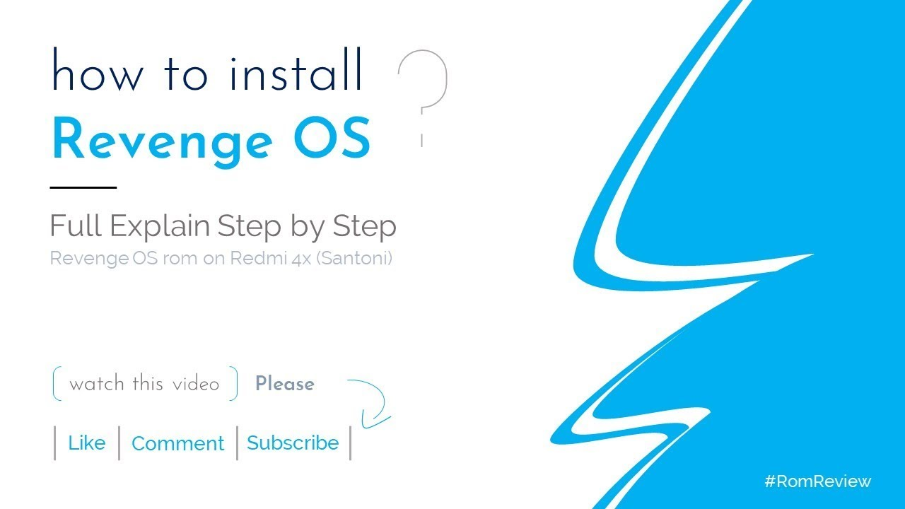 How to install Revenge OS - Rom Review-Official
