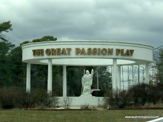 entrance to the Great Passion Play in Eureka Springs