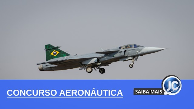Concurso da Aeronáutica abre inscrições com 223 vagas de emprego; Confira como se inscrever.