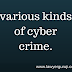 Cyber Crime ke prakar- Various kind of Cyber Crime