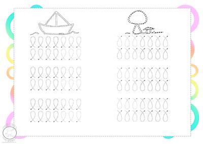 Grafomotricidad para imprimir en pdf