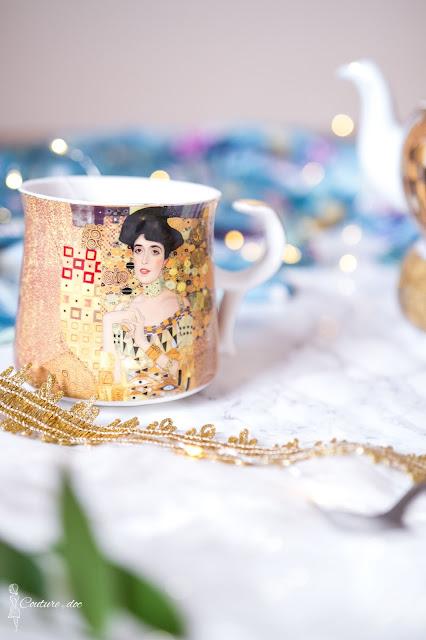 złota filiżanka Klimt, Adela