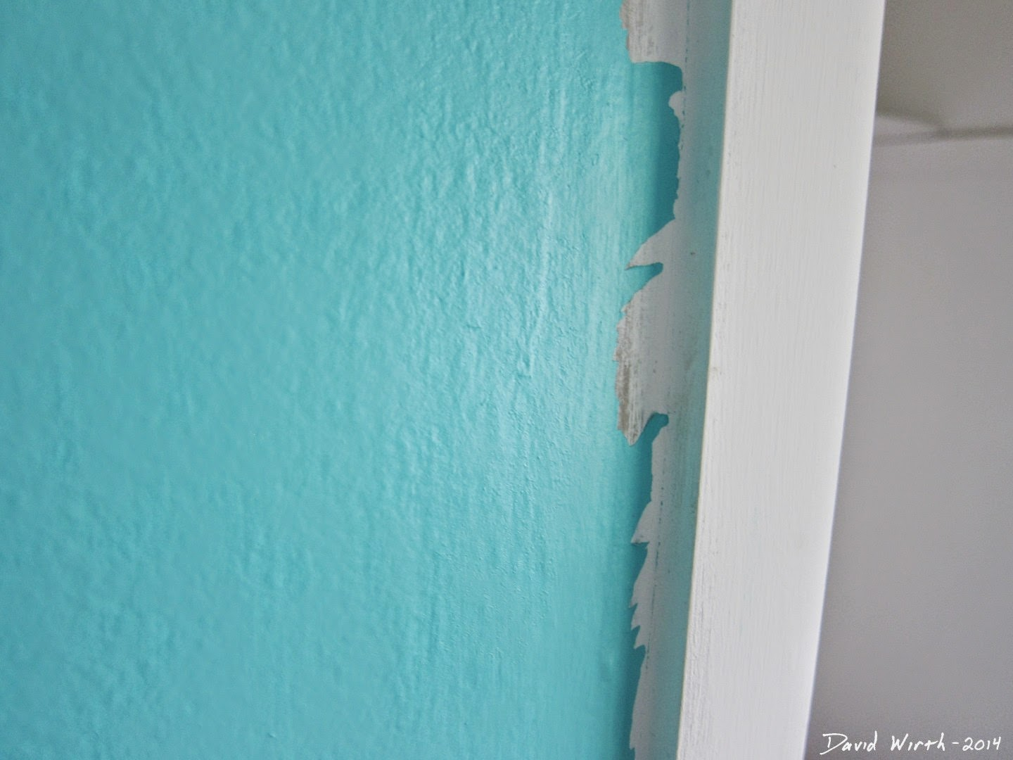 crisp, clean, easy wall paint, corner