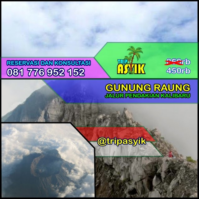 Open Trip Gunung Raung Jalur Pendakian Kalibaru