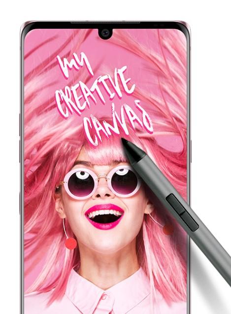 LG propone duplicar la productividad y la creatividad con su smartphone Velvet y el Active Pen