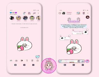 Cute Theme For YOWhatsApp & Ra WhatsApp By Ainesey