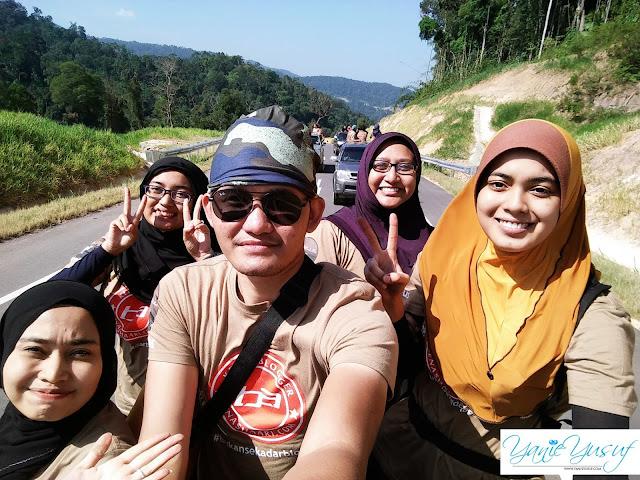 4WD ke Hutan Lipur Ulu Tembeling