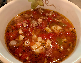 Pasta Fagioli Soup - Instant Pot Version
