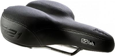 Beste fietszadel tegen zadelpijn SQ Lab gelzadel