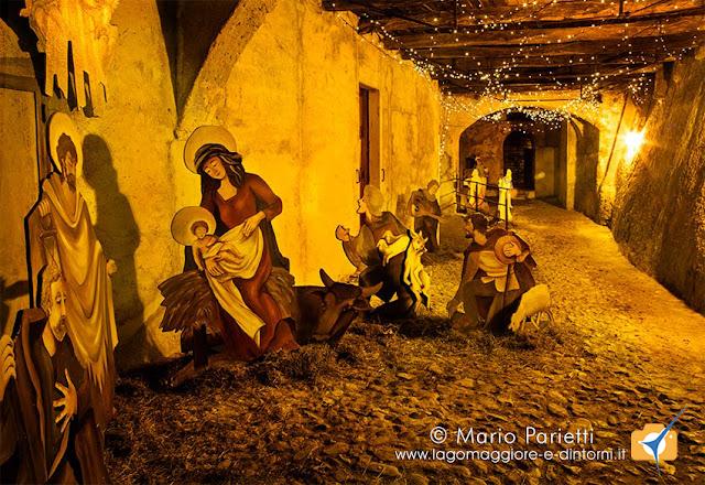 Presepe nei vicoli di Santa Maria del Monte Varese