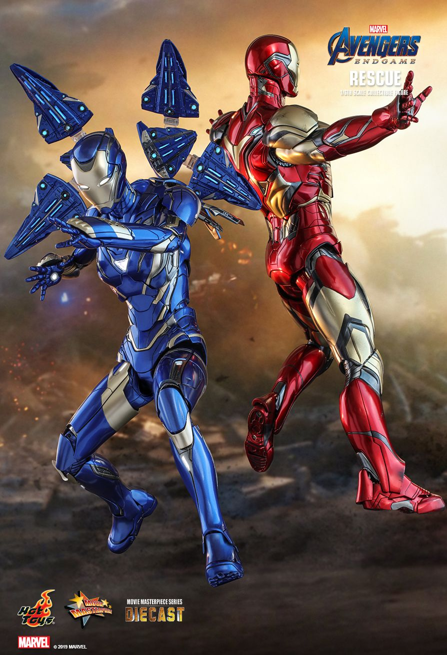 Hot Toys Avengers Endgame Rescue 1 6 Scale Figure