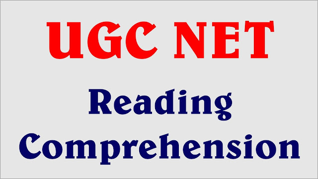 ugc net notes, reading comprehension notes, ugc net notes