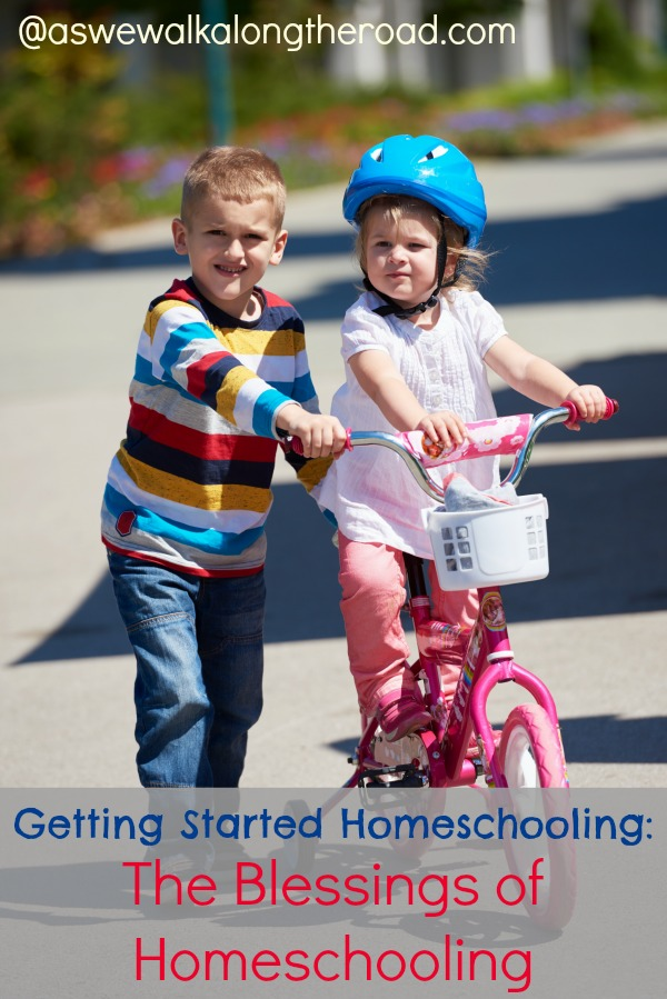 Blessings of homeschooling