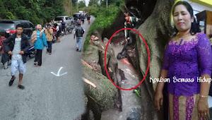 Bati Melur Sihombing  Tewas, Akibat Sepedamotornya Terjun ke Sungai