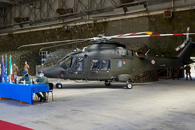 Italian Army receives AW169 helicopter