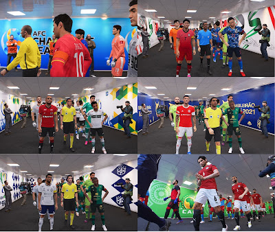 PES 2021 New Stadium Tunnel Pack by Eduardo lleite