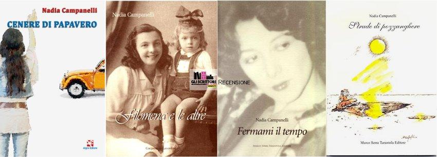 I libri di Nadia Campanelli: romanzi storici al femminile