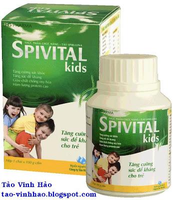 Tảo spivital Kids