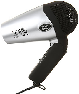 Andis IONIC Compact Hair Dryer with Folding Handle and Retracrable Cord AND COOL SHOT Button(Best Hair Dryer, Best Blow Drye)