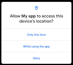 One-time permissions and auto-reset