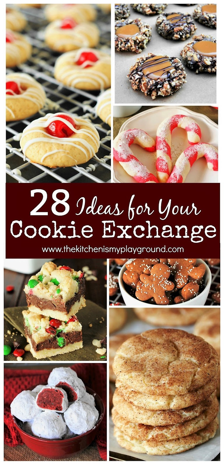 28 Treats For Your Cookie Exchange The Kitchen Is My Playground