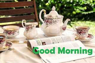 romantic morning tea images