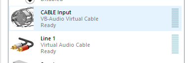 Streaming // Dos dispositivos virtuales de audio - VB audio cable y Virtual Audio Cable
