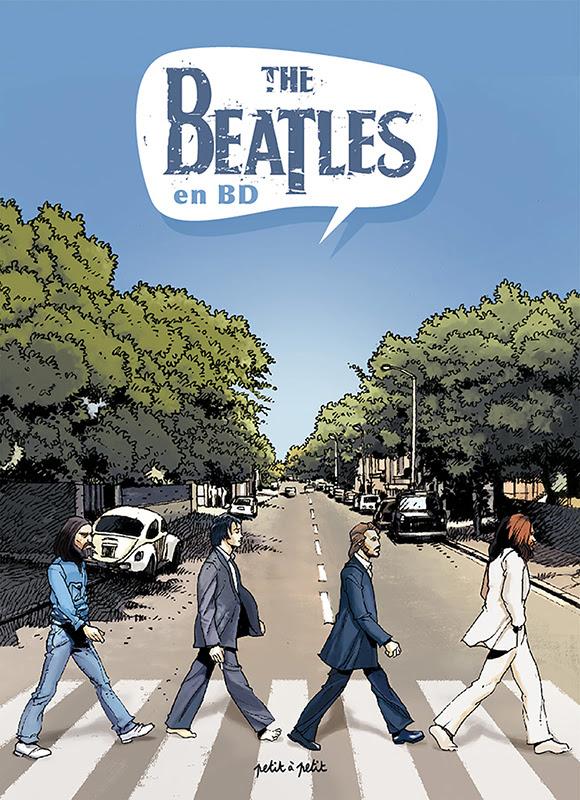 Réédition de <i>The Beatles en BD</i> en partenariat avec Deezer