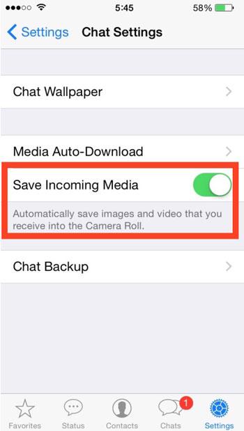 طريقة  منع الواتس اب من  حفظ الصور ومقاطع الفيديو تلقائيا على جهازك