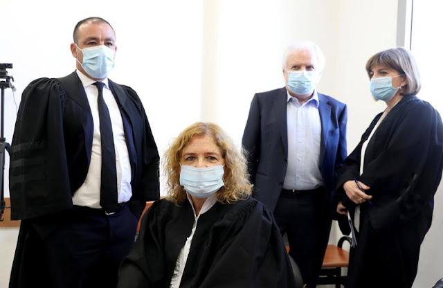 محاكمتة رئيس الوزراء الاسرائيلي بتهمة  الكسب الغير المشروع
