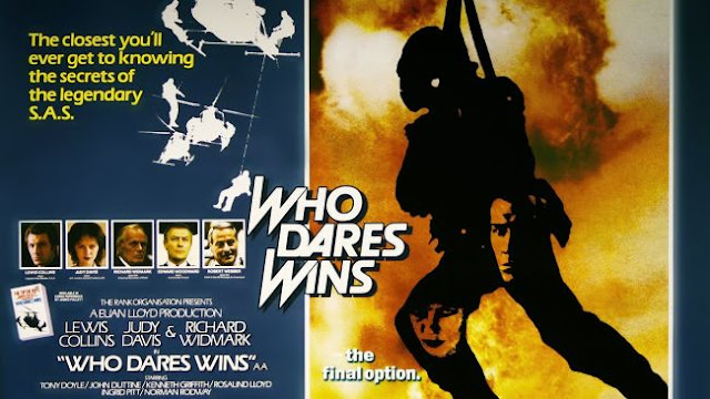Original British film poster for Who Dares Wins