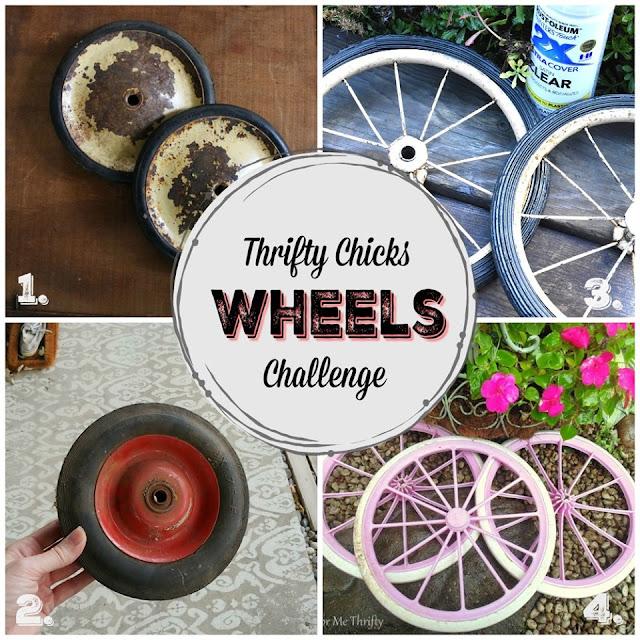 Junk Wheel Wreath