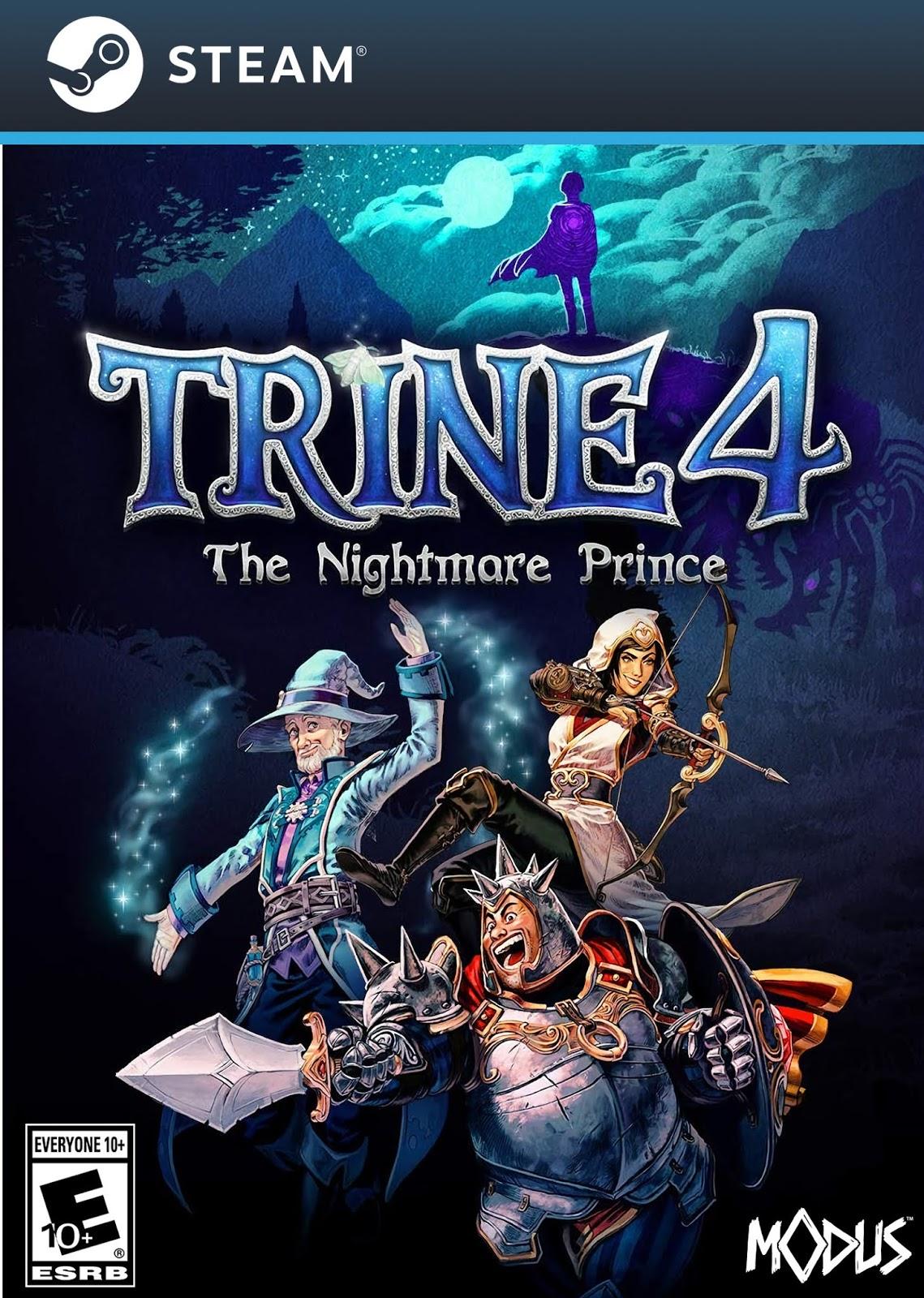 Descargar Trine 4 The Nightmare Prince PC Cover Caratula