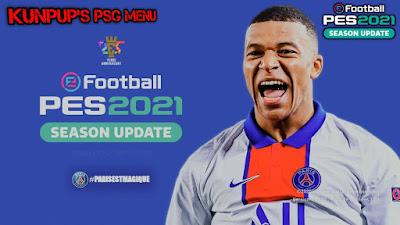 PES 2021 Graphic Menu PSG by Kunpup