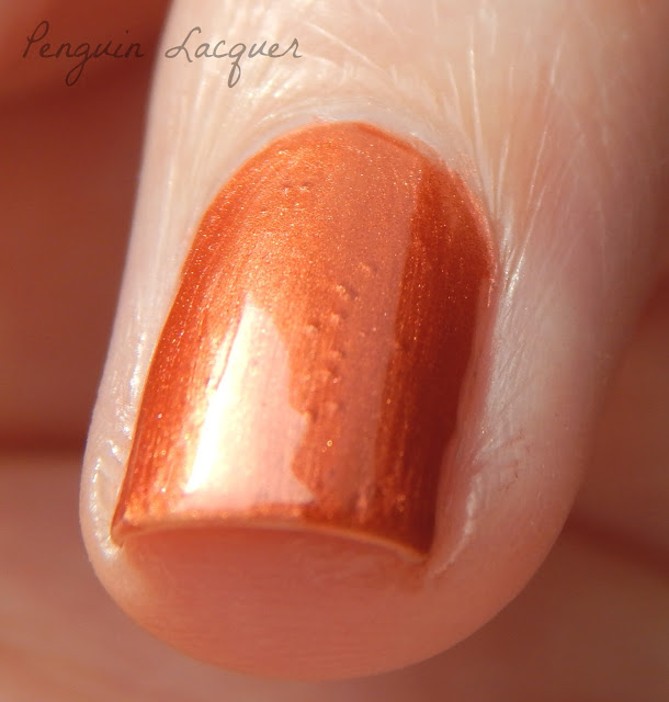 kiko smart fast dry lacquer 038 metallic copper makro