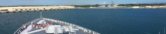 Indian Naval Ships Arrive In Guam To Take Part In Malabar Exercise With Quad Countries