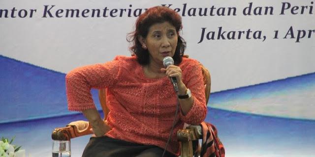 Perkuat Pengawasan, Menteri Susi Akan Beli Kapal Induk