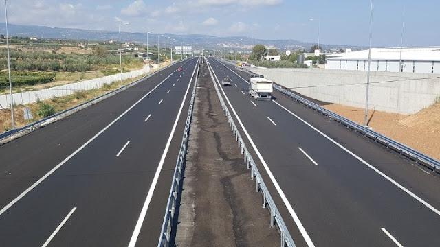 82,7 εκατ. ευρώ στοίχισε στην Ελλάδα ένα χιλιόμετρο αυτοκινητόδρομου