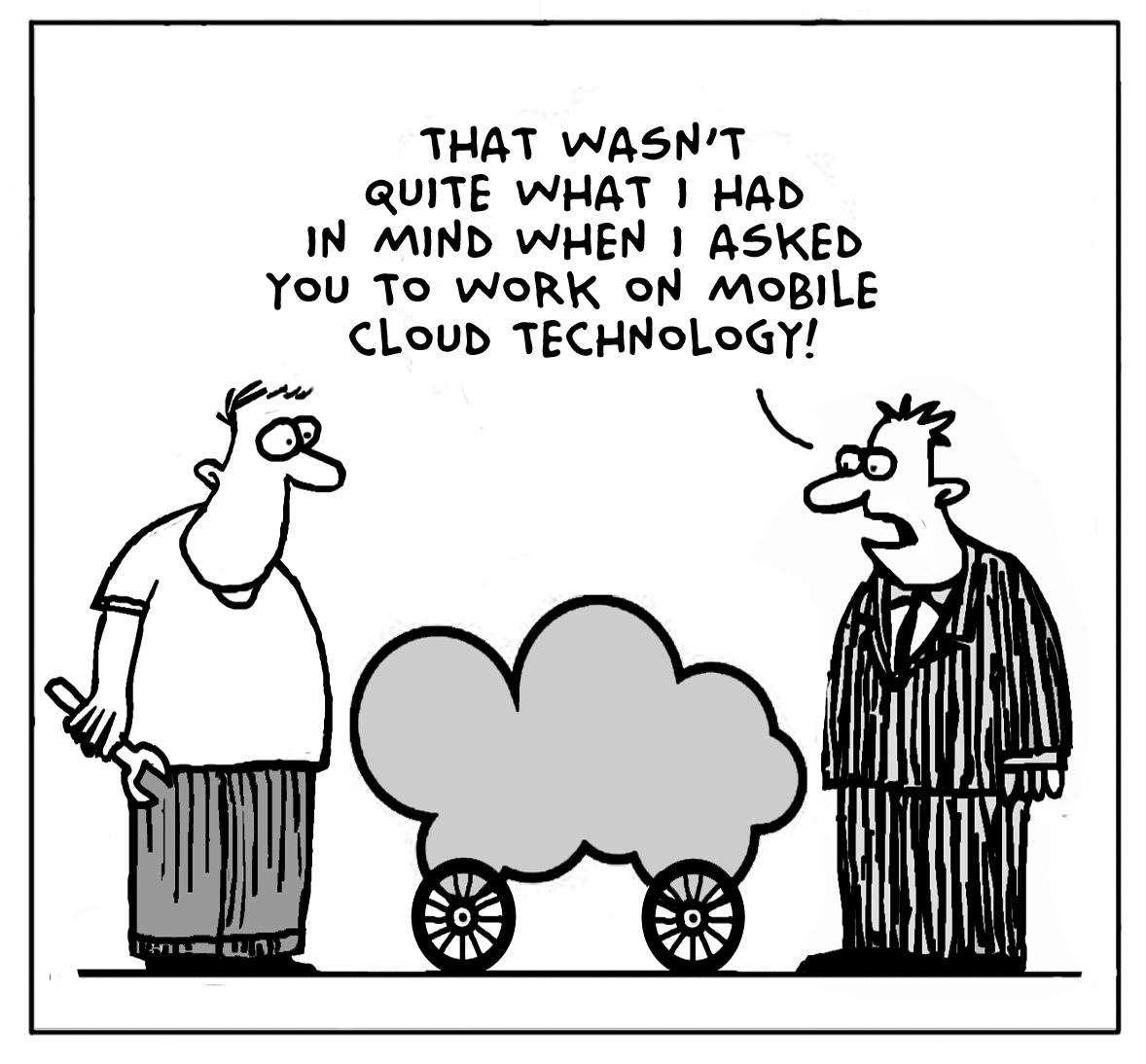 Voice Hub Cloud Computing With Cartoons