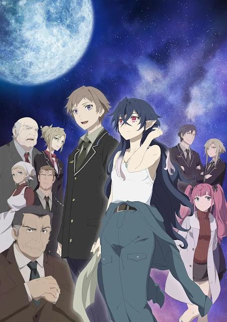 Anime 'Tsuki to Laika to Nosferatu' Confirma data de estreia