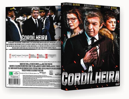 CAPA DVD – A CORDILHEIRA 2018 DVD-R