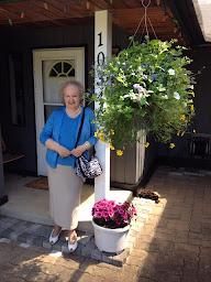 Olga at home