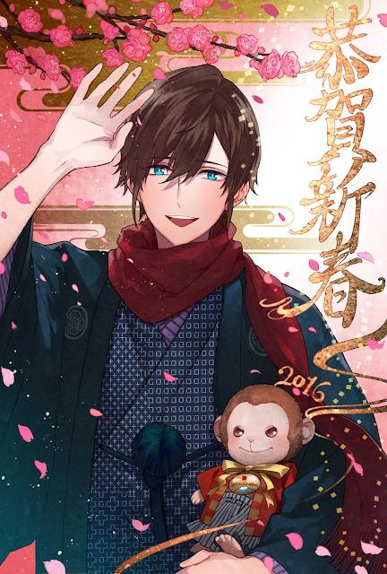 Dziesiąta pocztówka anime na 2016 rok