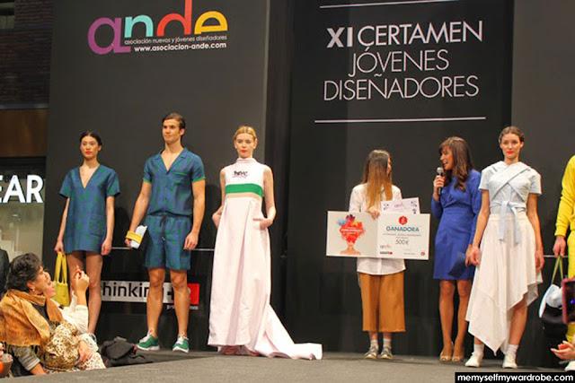 Ganadores del certamen en 2015