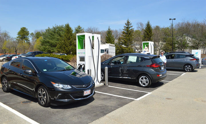 Hệ thống trạm sạc ôtô điện xuyên quốc gia